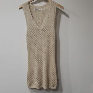 Athleta crochet swimsuit cover up dress size large